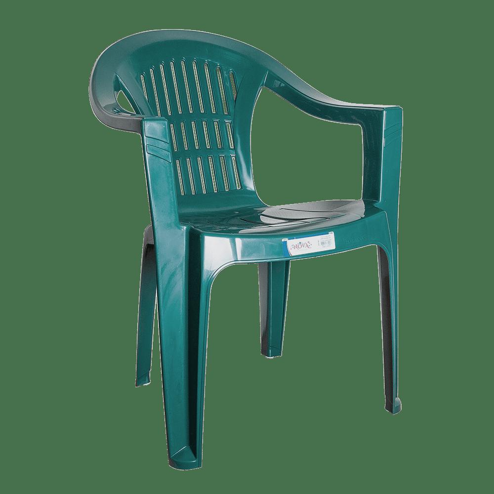 Кресло пластиковое Irak Plastik Bahar EKO Зеленый