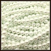 Жемчуг керамический 10 мм белый (80-90 шт)