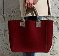 """Жіноча сумка з фетру """"Stylish thing"""" сумка ручної роботи від української майстерні PalMar, фото 1"""