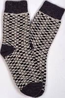 """Шерстяные носки мужские """"Принт"""" размер 41-43"""
