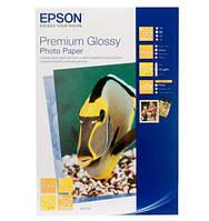 Фотобумага EPSON Premium Glossy Photo Paper, глянцевая, 255g/m2, А3, 20л (C13S041315)