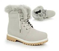 Женские тёплые ботинки по доступной цене