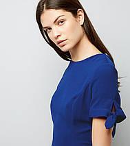 Новое синее платье с завязками на рукавах New Look, фото 3