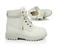Женские ботинки на шнуковке, зимние тёплые размеры 36-41