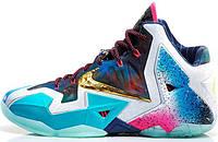 Баскетбольные кроссовки Nike Lebron 11 LeBron 11 What The, найк леброн