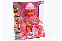 Пупс BABY BORN 8006-463 с аксессуарами и одеждой (9 функций)