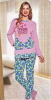 Костюм домашний женский, велюровая пижама Турция