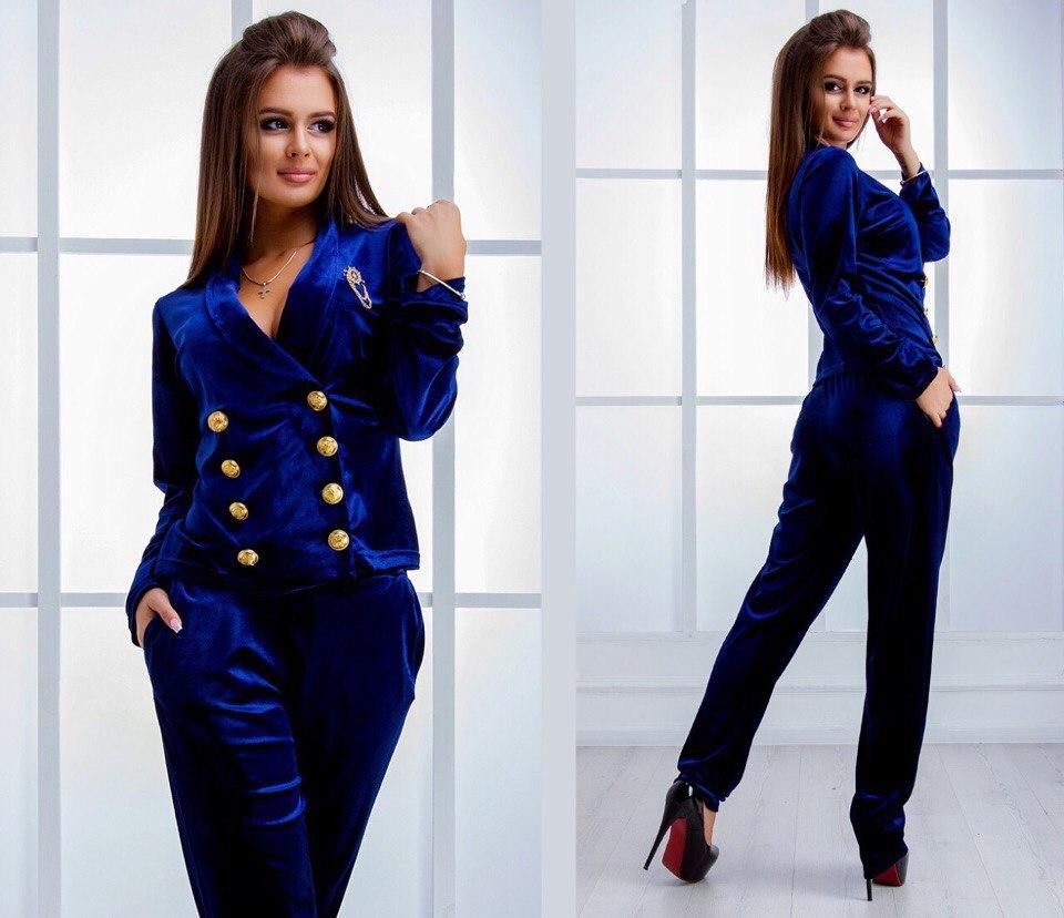 76976fa433a Женский костюм пиджак на пуговках + брюки - Интернет-магазин