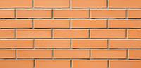 Лицевой кирпич, облицовочный, Марка М150-200, персиковый