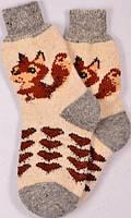 Шерстяные носки женские (размер 38-40)