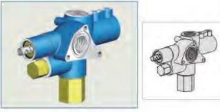 Гідравлічний напорний клапан Appiah Hydraulics