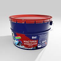 Мастика битум-полимерная кровельная МК Bitarel 10 л (10 кг)