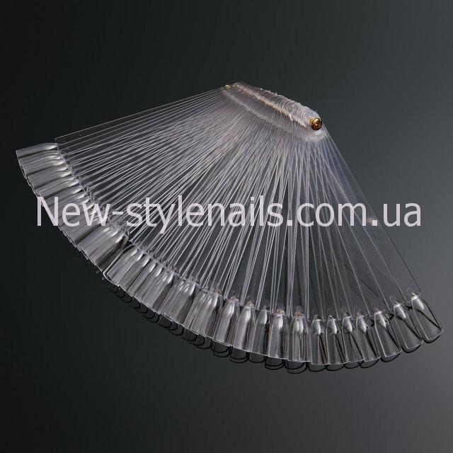 Палитра - веер прозрачная на 50 образцов
