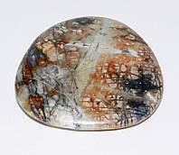 Полированный мрамор галька №486