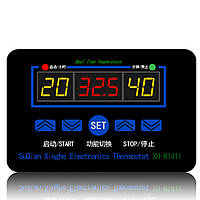 XH-W1411 Терморегулятор,термостат, реле -55 ... +120  (DC 12V / AC 220V), фото 1