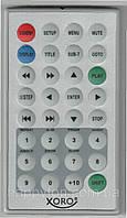 Пульт DVD (портат.) RM6000 - XORO HSD7100