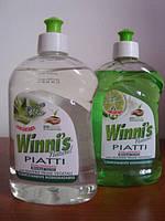 Winni's - Гипоаллергенное средство для мытья посуды концентрат, органика, с Алое Вера/лаймом, 500 мл Италия