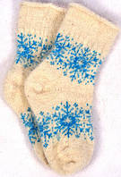 Носки из козьего пуха (размер 38-40)