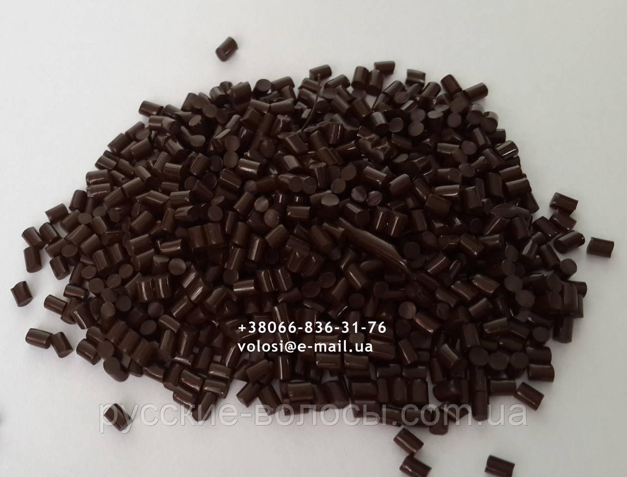 Італійський кератин коричневий для нарощування волосся 5г