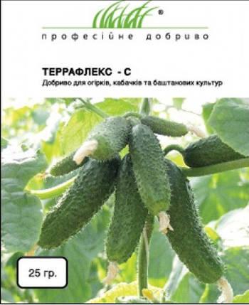 Террафлекс-S 25 г удобрение для огурцов, кабачков и бахчевых культур, Nu3 N.V., фото 2