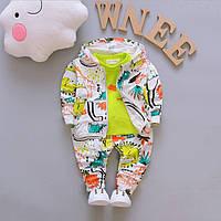 Спортивный костюм детский кофта с капюшоном