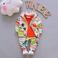 Спортивный костюм детский кофта  реглан и штаны