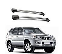 Поперечные рейлинги Toyota Land Cruiser Prado 120 (2002-2008)