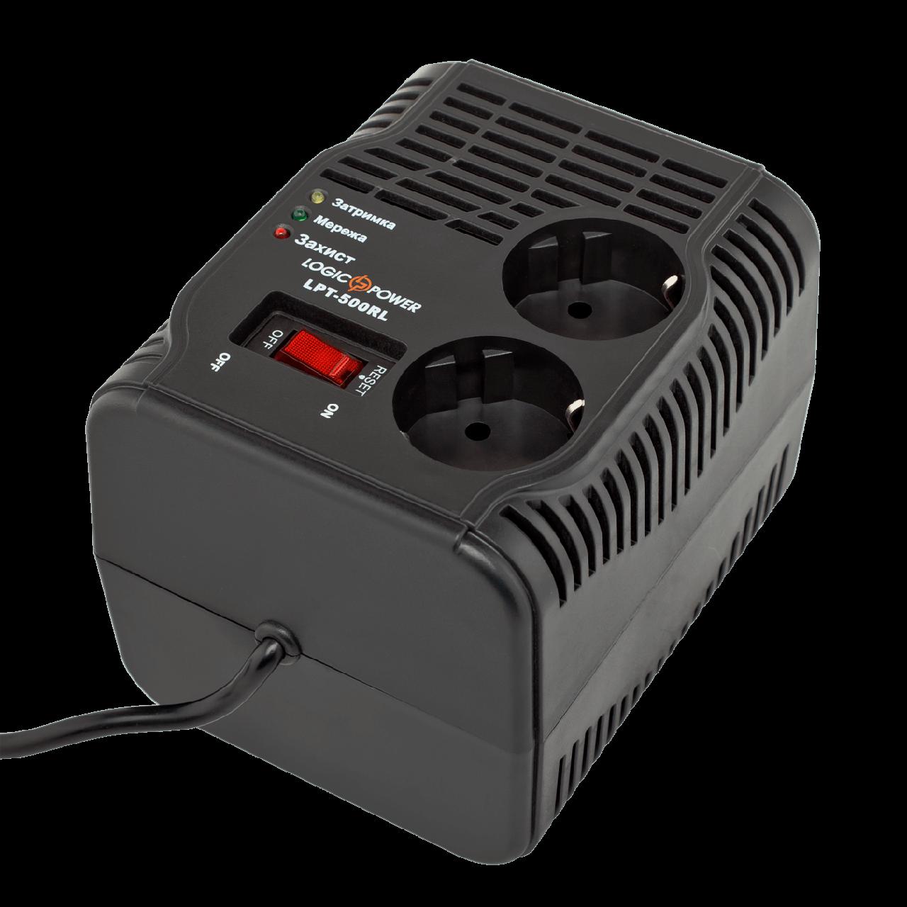 Logic Power LPT-500RL - стабілізатор для газового котла, телевізора, ноутбука