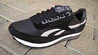 Мужские кроссовки Reebok Classic ( черные )