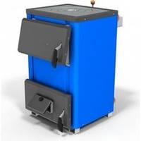 Твердотопливный котел с плитой для отопления 14 кВт (Титан)