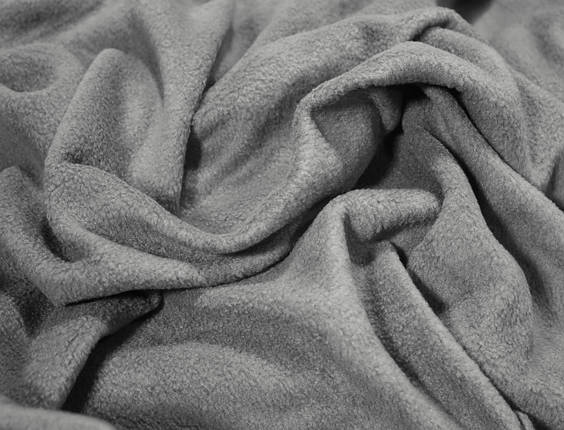 Ткань флис серый, фото 2