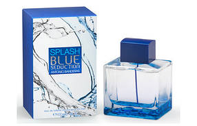 Мужская туалетная вода Antonio Banderas Splash Blue Seduction for Men реплика