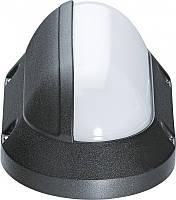 Navigator 94825 NBL-PO3-7-4K-BL-IP65-LED светильник (овал)7W IP65 4000К черный корпус белый плафон
