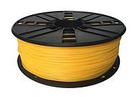 Пластиковый материал филамент gembird 3dp-tpe1.75-01-y для 3d-принтера tpe 1.75 мм Желтый