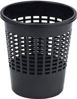 Корзина для мусора офисная 10 литров Curver черная