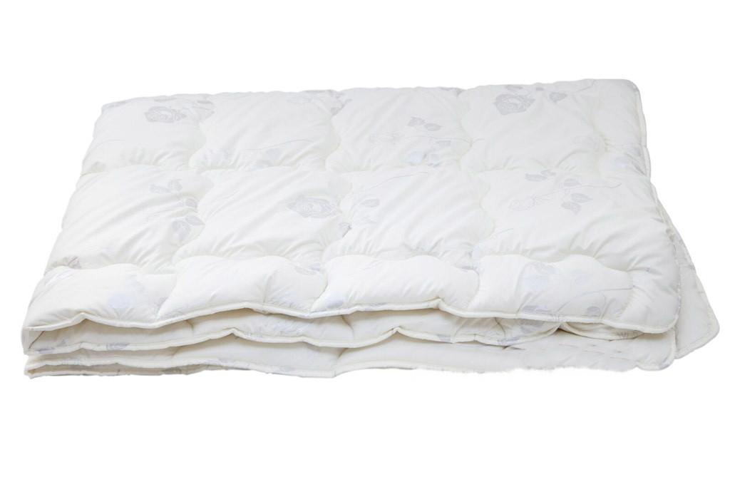 Теплое одеяло из овечьей шерсти ТЕП «Pure Wool» тик