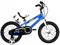 "Велосипед 12"" RoyalBaby FREESTYLE  синий"