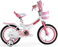 "Велосипед 14"" Royal Baby JENNY GIRLS  розовый"