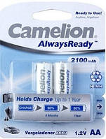 Аккумуляторы Camelion R6/2bl 2100 mAh Ni-MH (Always Ready)