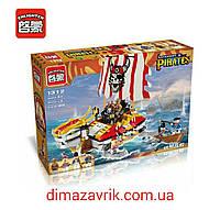 Конструктор Brick 1312 Legendary Pirates Dragon Ship 464 дет
