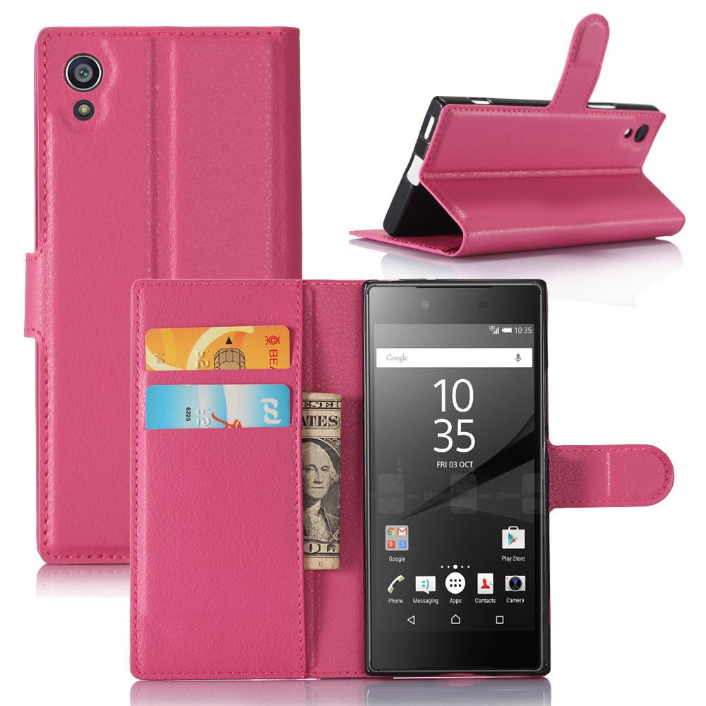 Чехол Sony XA1 / G3112 книжка PU-Кожа розовый