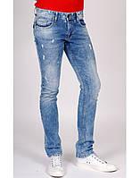 Джинсы мужские Crown Jeans модель CR-2-FASHION DESTROY-CR-2