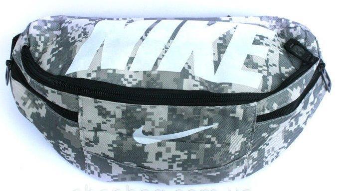 Спортивна сумка на пояс Nike Team Training 147, камуфляж, репліка