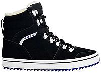 Мужские зимние кроссовки Adidas Honey Hill Winterboots High Top (Адидас) с мехом черные