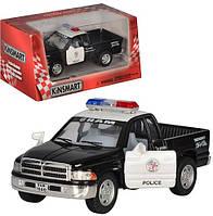Машина металлическая KINSMART  Полиция Dodge Ram