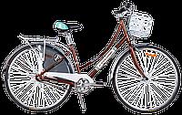 """Велосипед 28"""" CYCLONE MONACO 3-nex 2016 17"""" коричневый"""