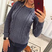 Оригинальный женский свитер на зиму, фото 1