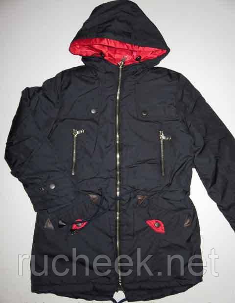 Куртка ПАРКА подростковая для девочки р-ры 134, 158,  Венгрия. Grace G