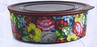 Акваконтроль Цветочный узор(1,5л),круглый,Tupperware