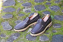 Мужские кожаные мокасины,  топсайдеры  P & S, made in Germany.